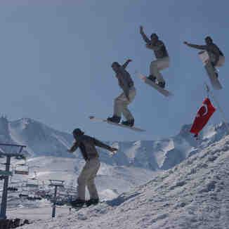 erciyes snowboard, Erciyes Ski Resort