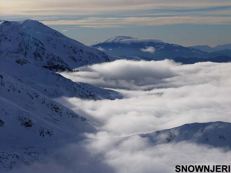 Maxx scenery above clouds, Brezovica