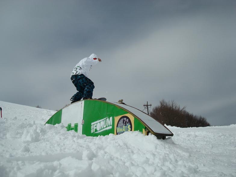 snow park, Vasilitsa