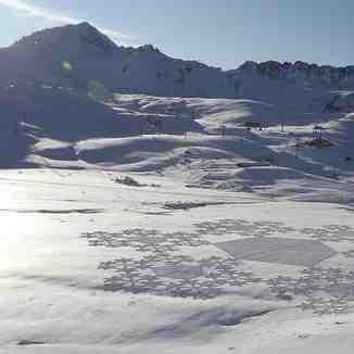 snowflake, Les Arcs