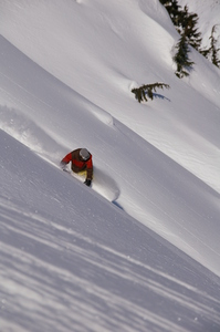 Snowboarding, Northern Escape Heli Skiing photo