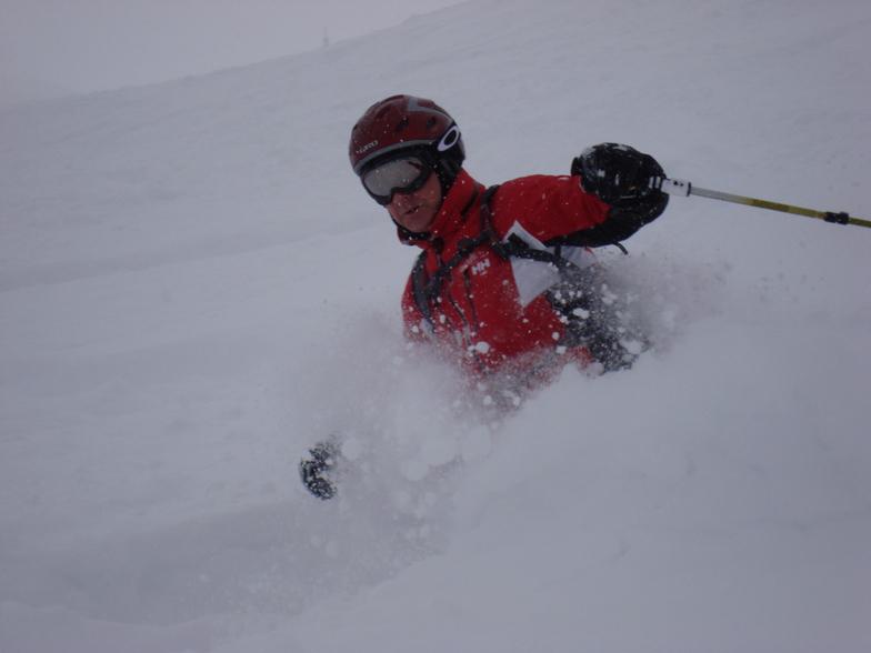 Godrfey in Deep davos powder