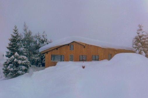 Basecamp Andermatt got snow!