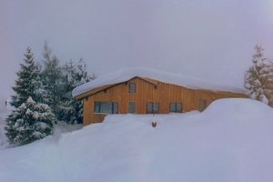 Basecamp Andermatt got snow! photo