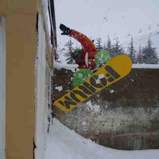 lebanon snowboard, Mzaar Ski Resort