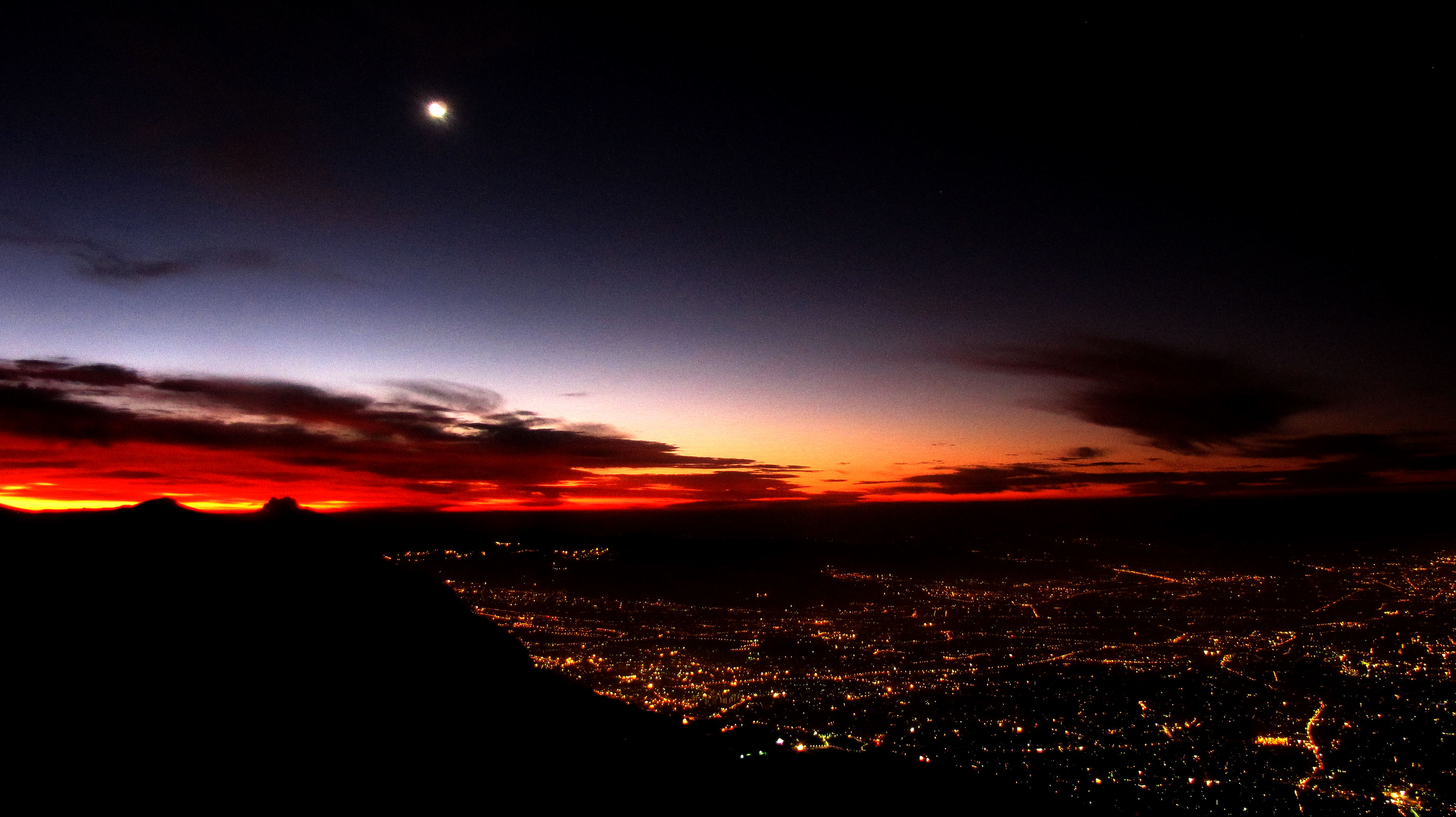 sunrise, Tochal