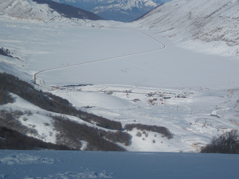 Campo Felice-Rocca di Cambio snow