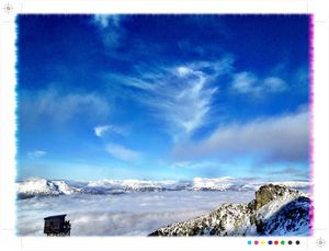 Glacier, Whistler Blackcomb photo