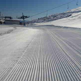 First day of the ski season 2012, Popova Shapka