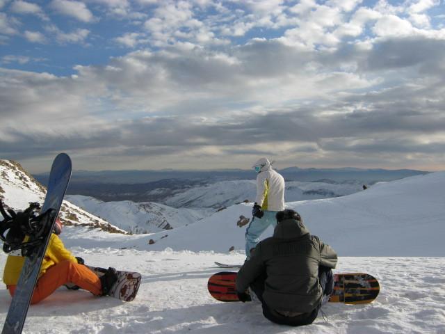 a.m, Pooladkaf Ski Resort