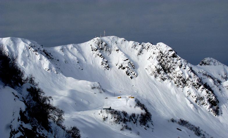 avalanche post of Rosa Khutor, Rosa Khutor Alpine Resort