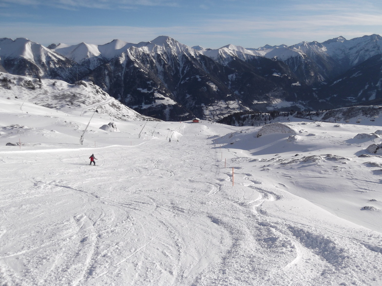 """At the Top of the Blue """"Hamburger"""", Bad Gastein"""