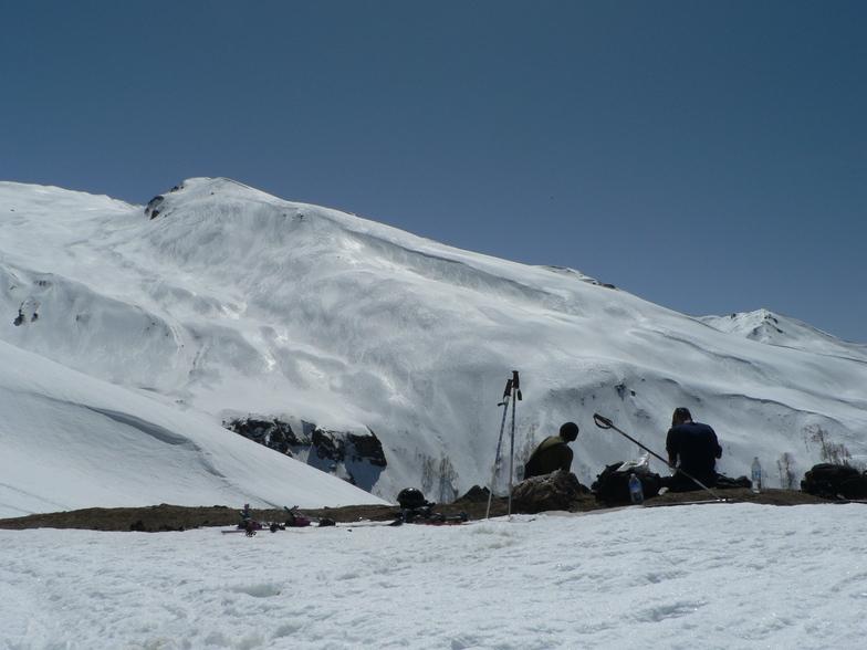 On the way to Gulaba, Himalaya Heliski