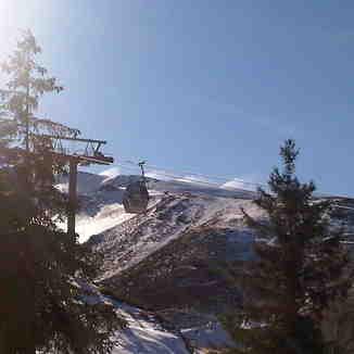telecabina borreguiles, Sierra Nevada