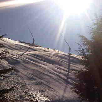 sol y nieve, Sierra Nevada
