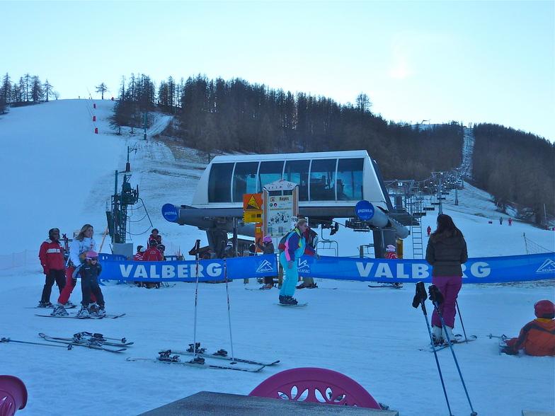TSF4 des RAGES, Valberg