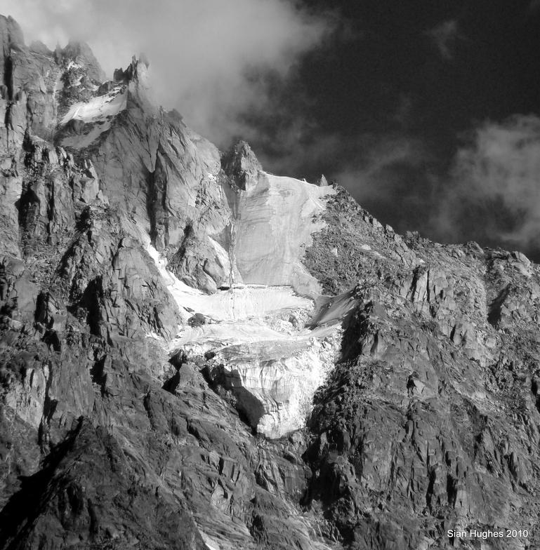 Glacier in the Chamonix Valley