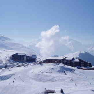 Smoky Cloud rising, Alpe d'Huez