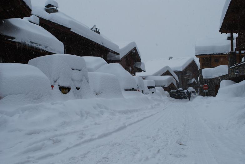 Late December dump 2011, Sainte Foy