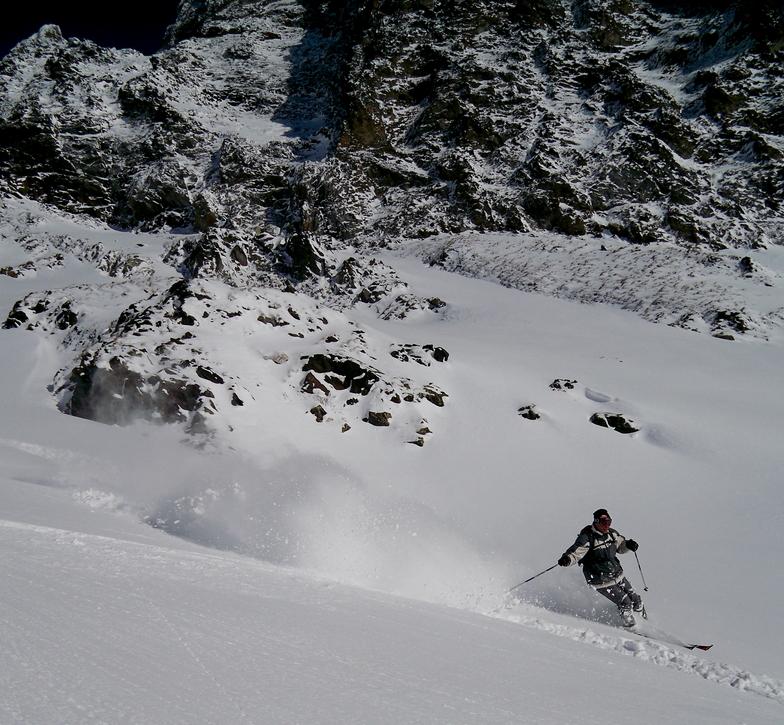 Alpe d'Huez snow