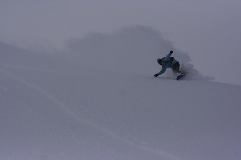 Mt Baker Snowboarder Morgan Hebert, Mount Baker
