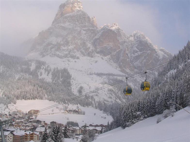 Corvara village from the top, Corvara (Alta Badia)