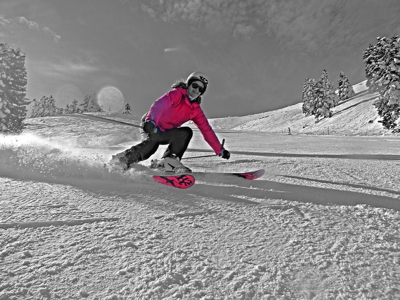 carving ski, Kalavryta Ski Resort