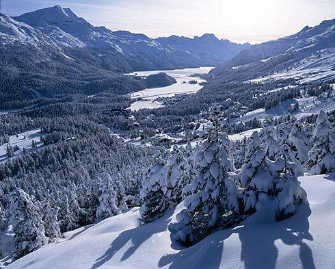 St. Moritz, A view of the lake...(I think), St Moritz