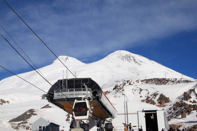 Mir station (new), Mt Elbrus