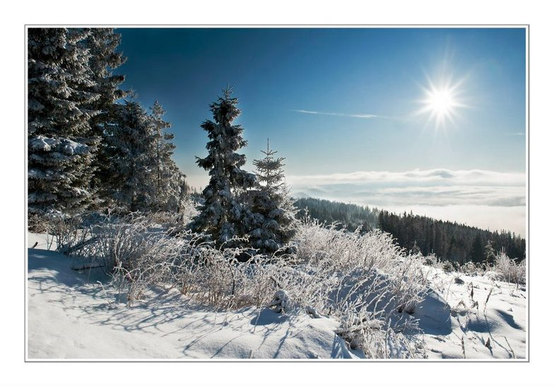 Štrbské Pleso snow