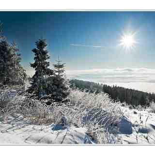 View on Liptov, Štrbské Pleso
