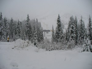 New Snow, Sasquatch Mountain Resort photo