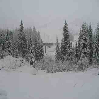 New Snow, Sasquatch Mountain Resort