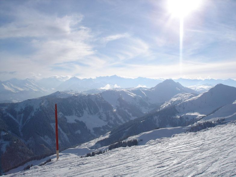 A shot from high above..., Kitzbühel
