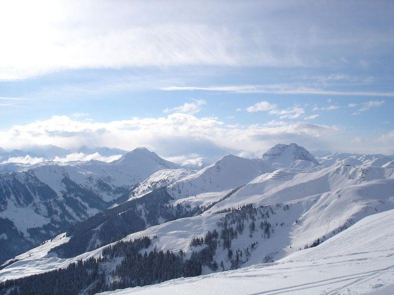 A magnificent scenery in Kitzbuhel, Kitzbühel