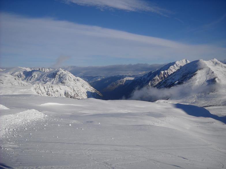en haut de la mine, Porté Puymorens