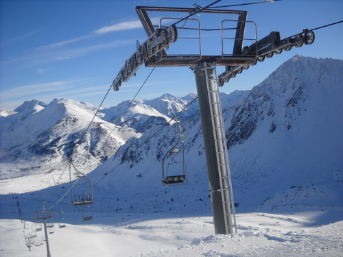 Porté Puymorens Ski Resort by: pujol sylvain