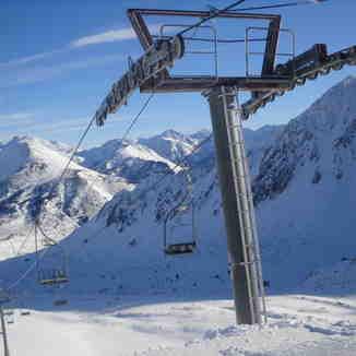 haut de la mine, Porté Puymorens