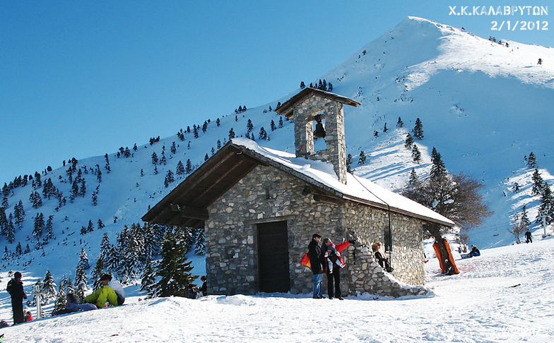 Saint Yakinthos chapel, Kalavryta Ski Resort