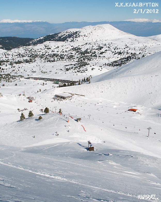 Looking @ Vathia Lakka, Kalavryta Ski Resort