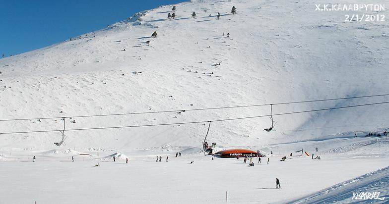Snow Park Kalavrita ski resort, Kalavryta Ski Resort