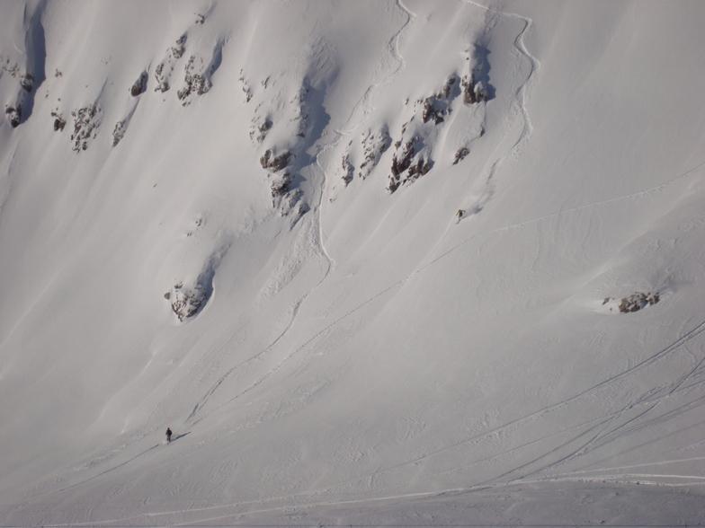 The Weissflugipfil steeps, Davos