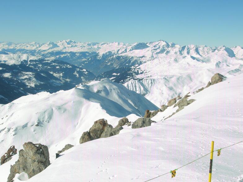 Senneflu seen from the Weissflugipfil above davos