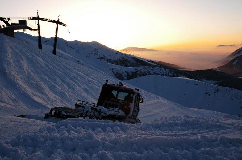 Sunset, Brezovica