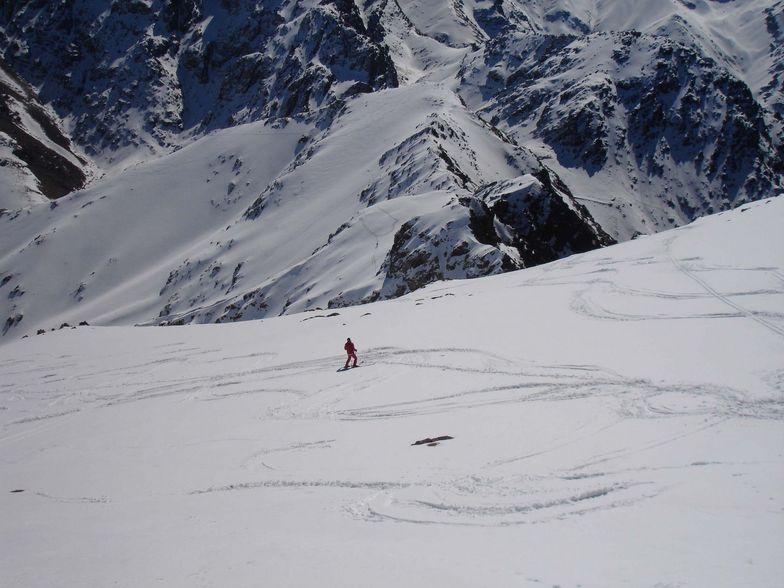 Empty slopes, Oukaïmeden