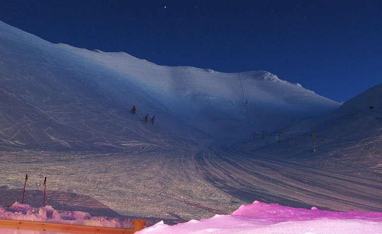 Styga night view, Kalavryta Ski Resort