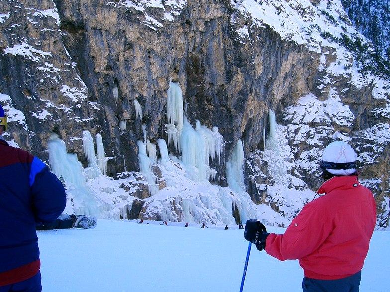 Frozen waterfall, Corvara (Alta Badia)
