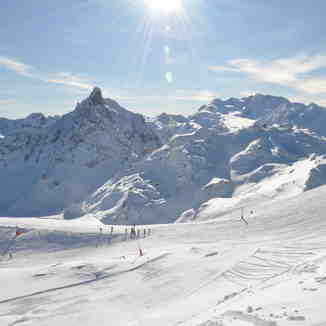 Top of Courchevel