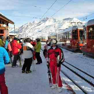 Gornegrat train station, Zermatt