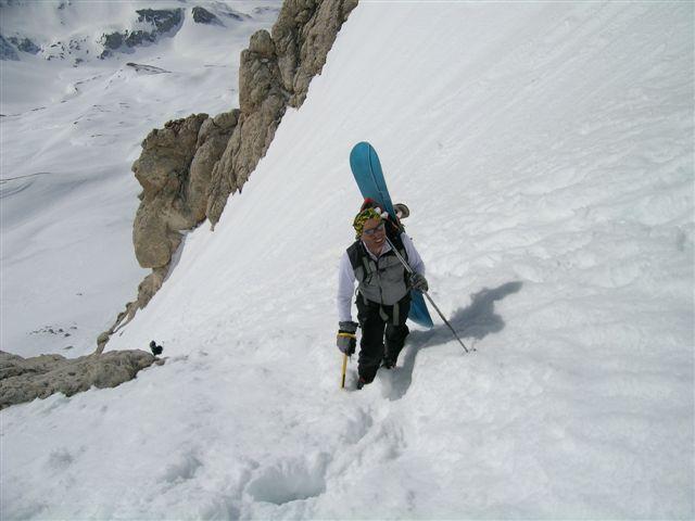 Gran Sasso snow